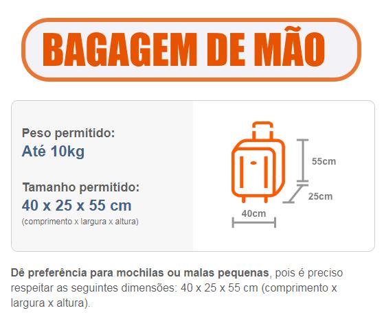 95aa4bf2f Tag  Novas Regras De Bagagem 2018